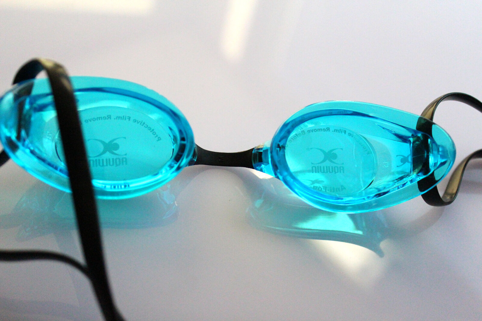 Swedish Optical Swim Swimming Goggles CO-34 AQBK Nearsight Diopter -1.5 to -8