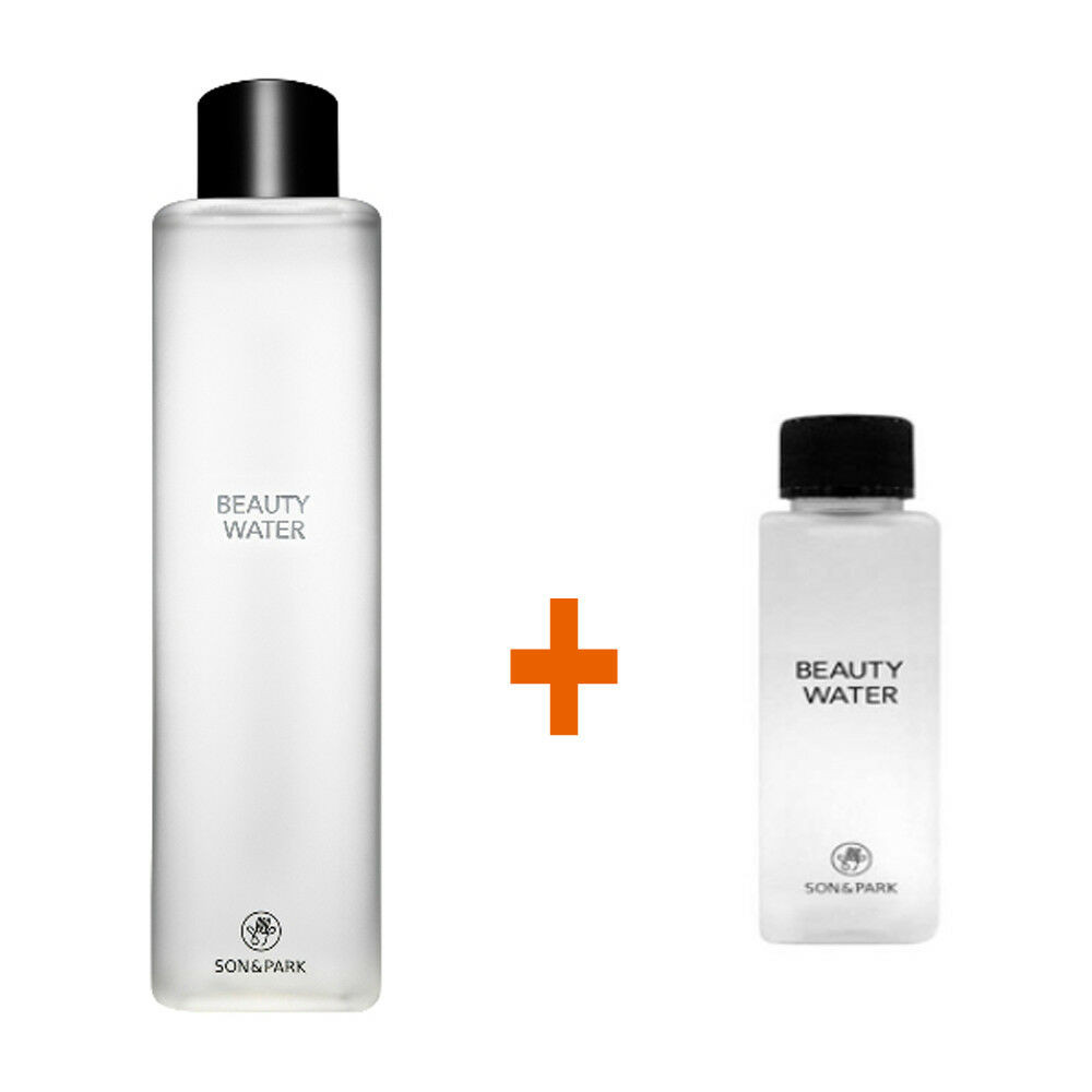 SON & PARK Beauty Water 340ml + 60ml Cleansing Toner (Newest,Free Express Ship)